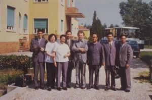 Delegazione cinese in visita all'ISP