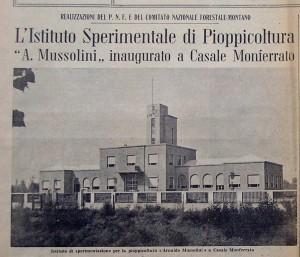 L'Istituto è stato inaugurato l'1 ottobre 1939.